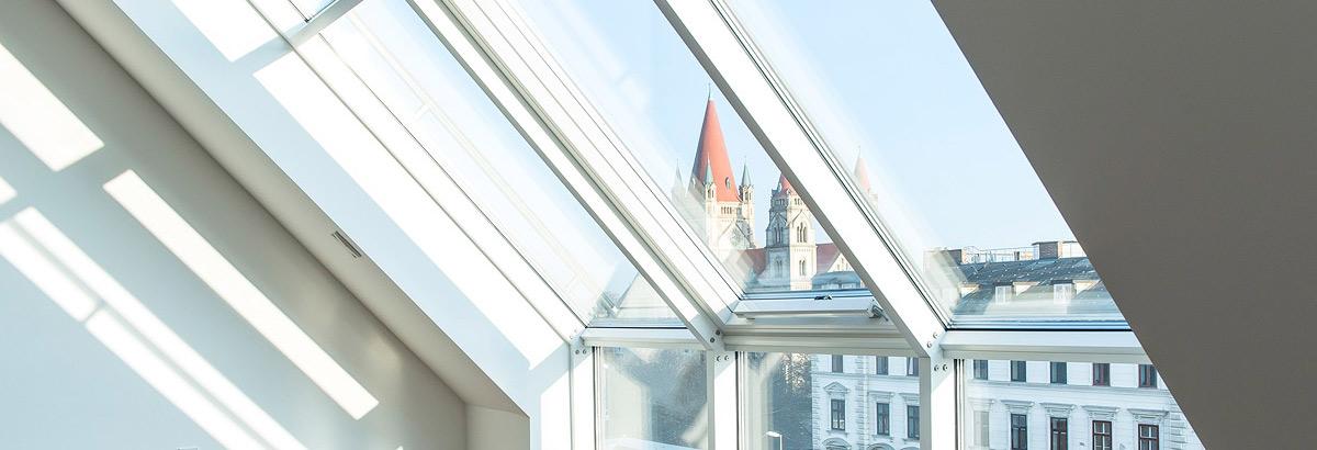 Vorgartenstraße Exklusive Dachgeschosswohnung