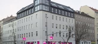Vorgartenstraße Exklusive Dachgeschosswohnung Außenansicht